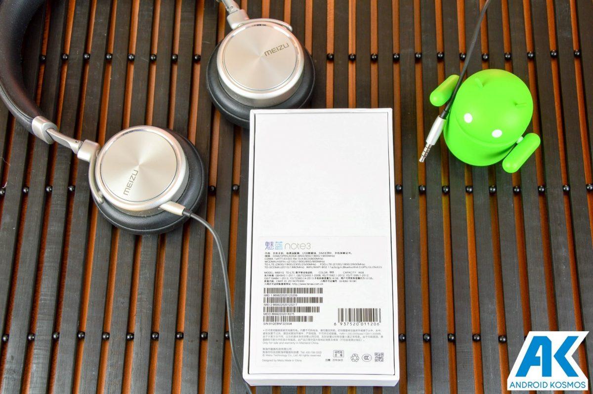Test / Review: Meizu M3 Note - günstiges MidRange Smartphone 119