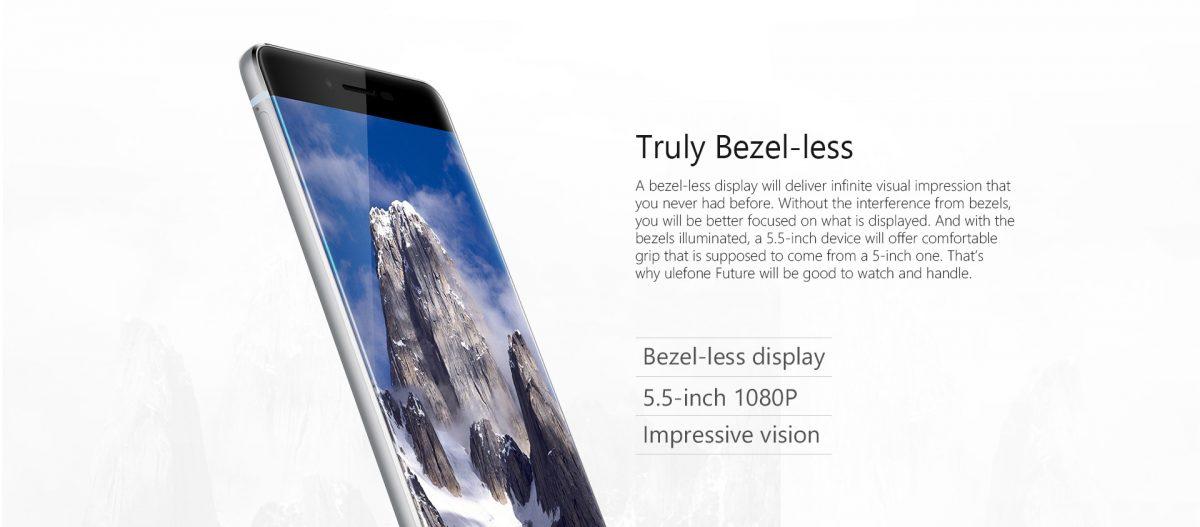 Ulefone Future mit randlosen Display für 242 Euro vorbestellbar 4