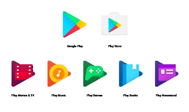 Neue Icons für die Google Play-Apps angekündigt 2