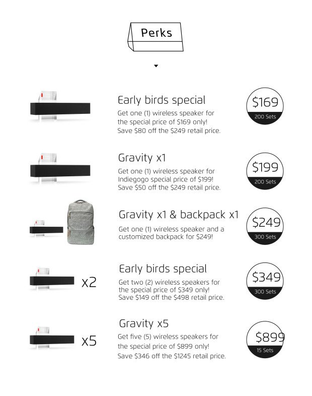"""Meizu """"Gravity"""" kabelloser Lautsprecher als Indiegogo-Kampagne 22"""