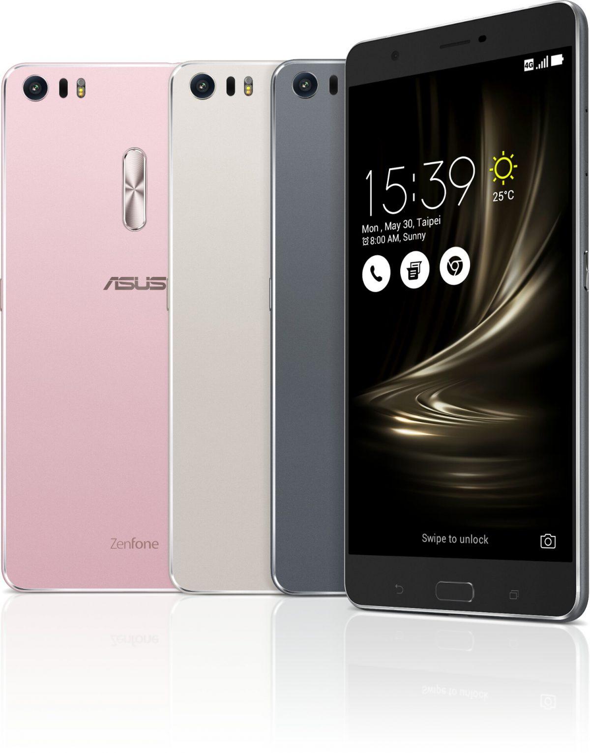 ASUS stellt das ZenFone 3, ZenFone 3 Ultra und ZenFone 3 Deluxe offiziell vor 1