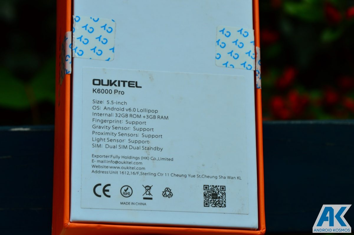 Test / Review: Oukitel K6000 Pro - das 6.000mAh Akkumonster 54