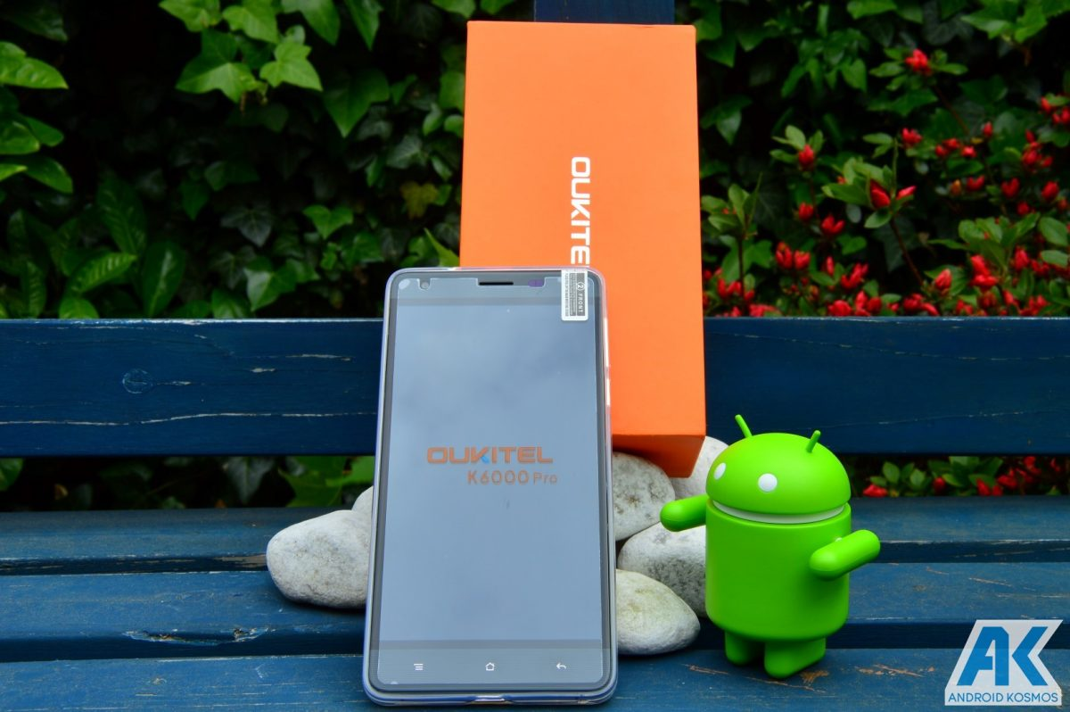 Test / Review: Oukitel K6000 Pro - das 6.000mAh Akkumonster 47