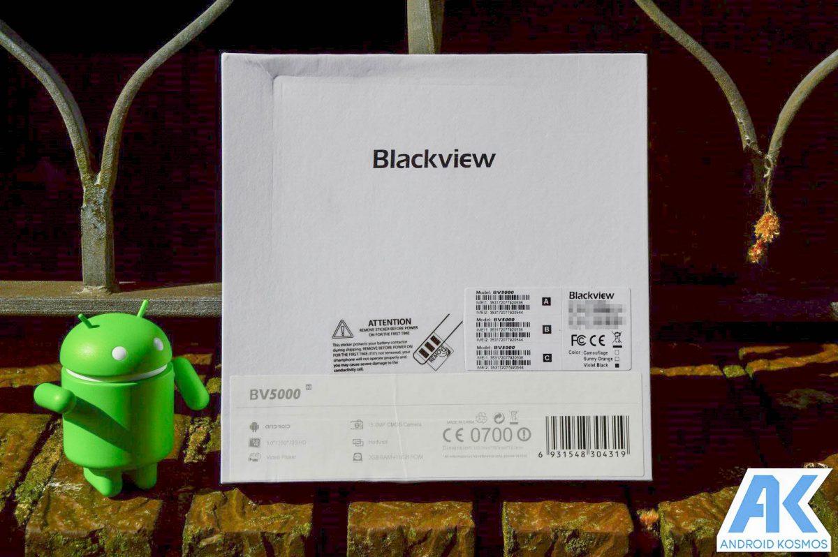 Test / Review: Blackview BV5000 - widerstandsfähiges Outdoorhandy mit IP67 Zertifizierung 70
