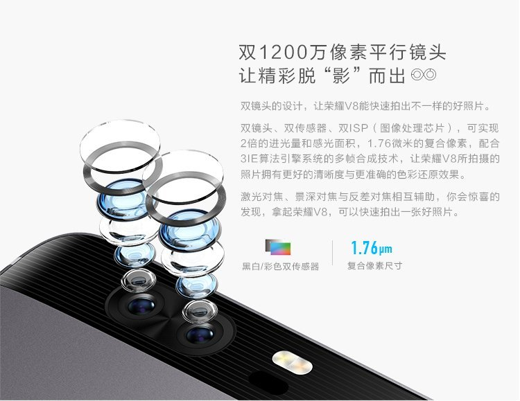 Honor V8 mit 64GB ROM, 4GB RAM und Dual-Kamera offiziell vorgestellt 8