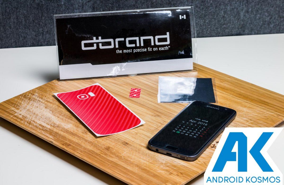 dBrand Skins für das Samsung Galaxy S7 im Test 11