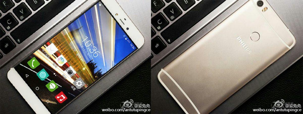 Philips S653H - neues Smartphone mit Fingerabdrucksensor aufgetaucht 1