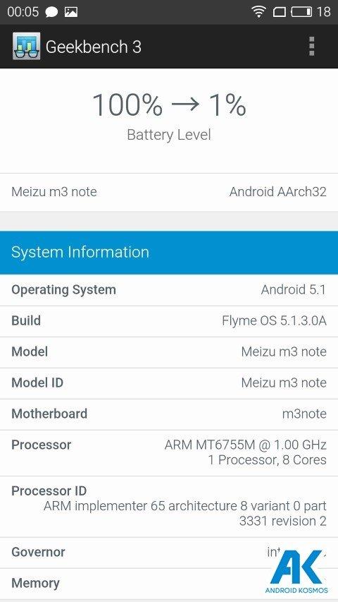 Test / Review: Meizu M3 Note - günstiges MidRange Smartphone 99