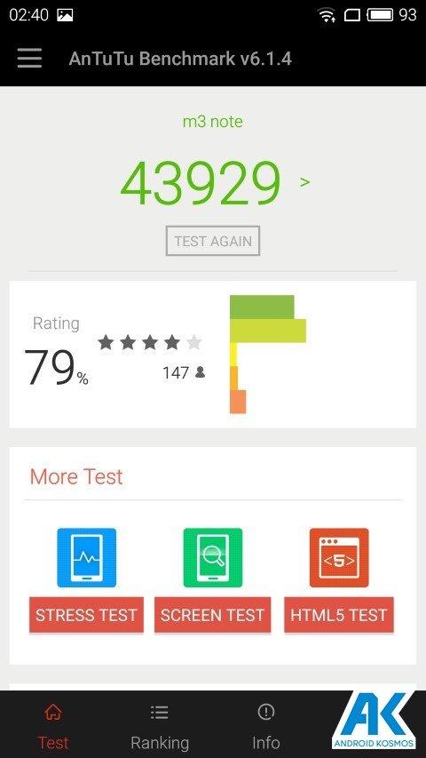 Test / Review: Meizu M3 Note - günstiges MidRange Smartphone 108