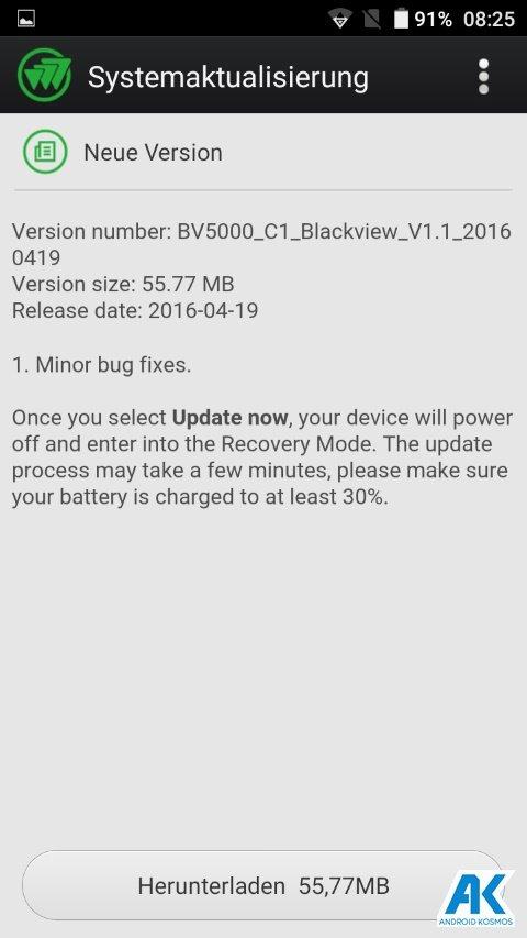 Test / Review: Blackview BV5000 - widerstandsfähiges Outdoorhandy mit IP67 Zertifizierung 137