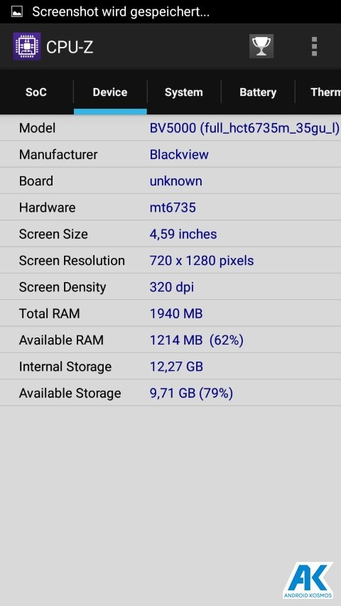 Test / Review: Blackview BV5000 - widerstandsfähiges Outdoorhandy mit IP67 Zertifizierung 169