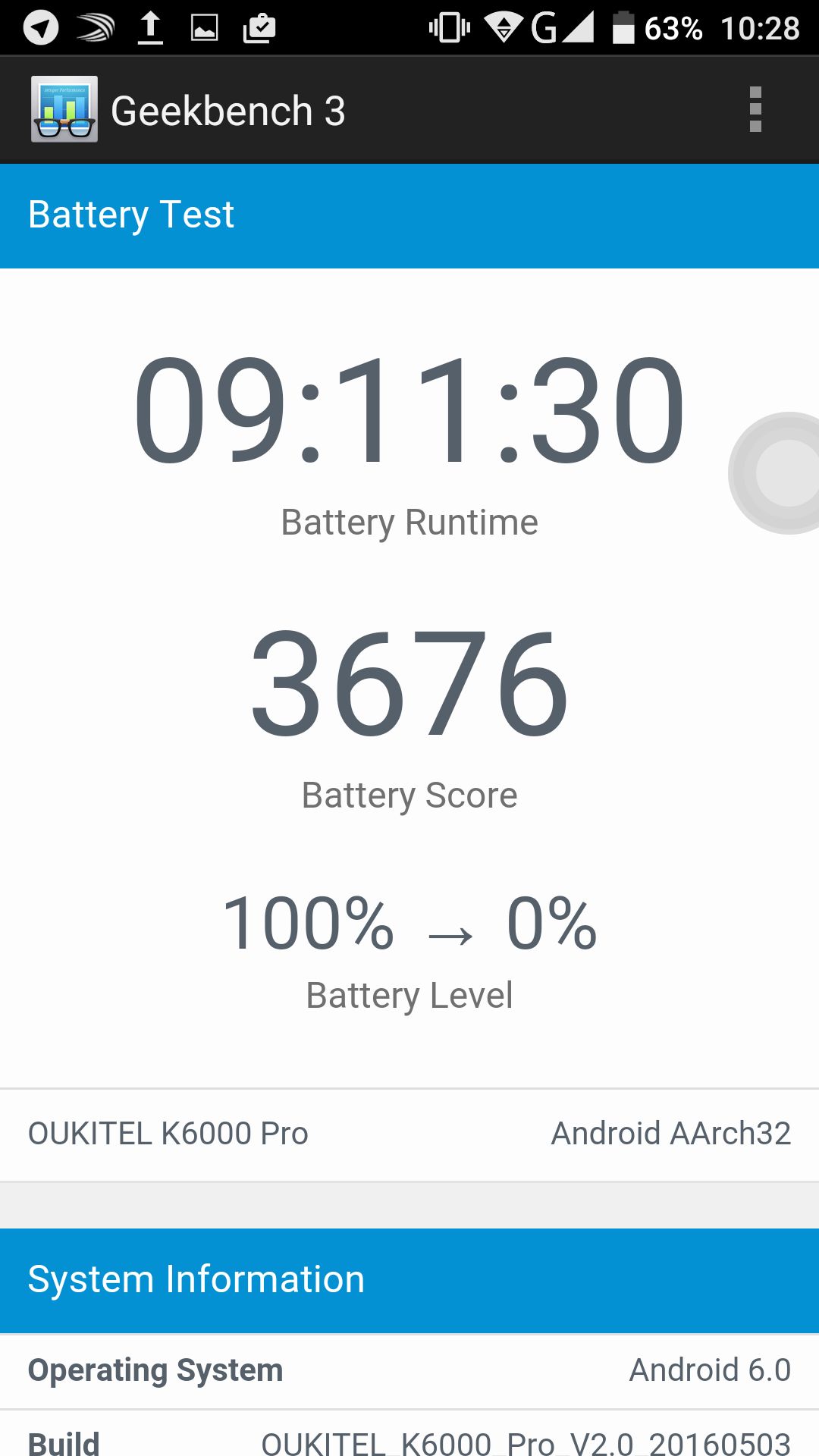 Test / Review: Oukitel K6000 Pro - das 6.000mAh Akkumonster 45