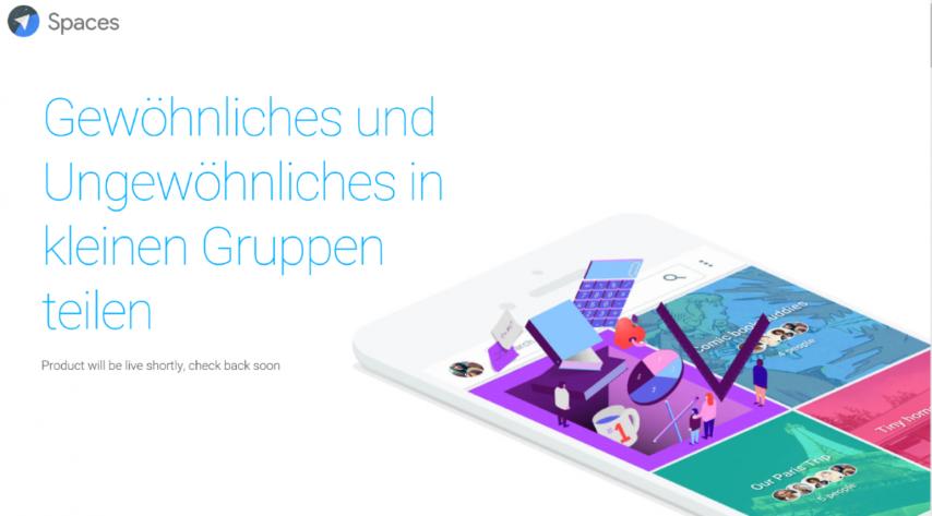 Google Spaces: Neues Produkt zum Teilen von Inhalten in Gruppen 3