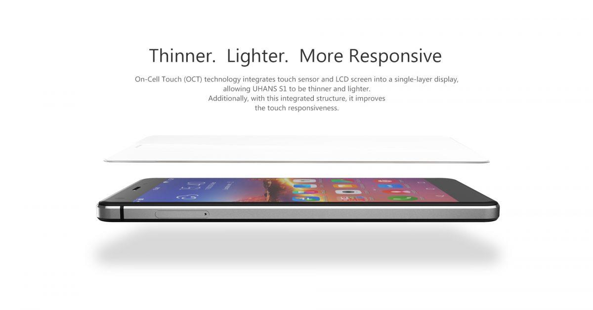 UHANS S1: LowBudget Smartphone offiziell vorgestellt 8