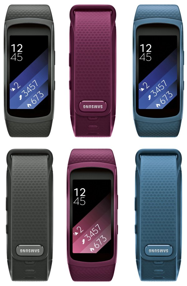 Wearable-Offensive bei Samsung: Gear Fit 2, Gear Icon X und Samsung Charm 7