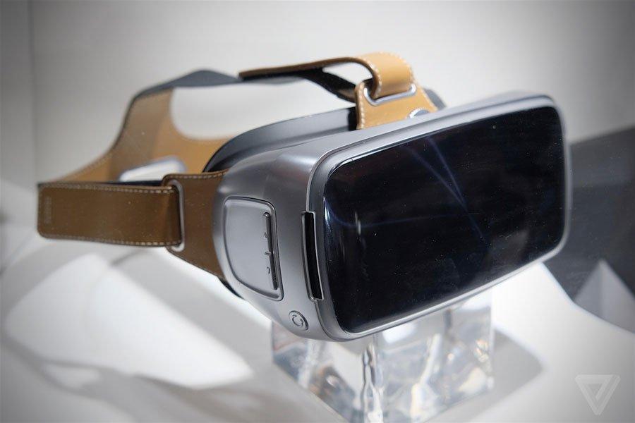 ASUS Virtual-Reality Brille mit Metallrand und Leder vorgestellt 3