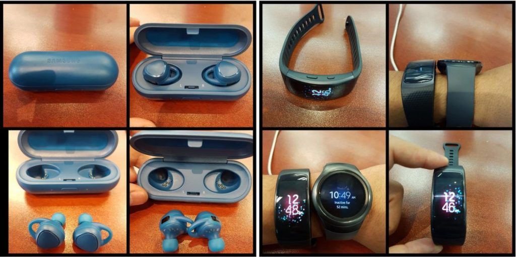 Wearable-Offensive bei Samsung: Gear Fit 2, Gear Icon X und Samsung Charm 2