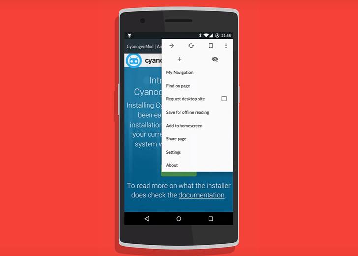 Cyanogenmod: Gello ein Chromium basierter Browser wird in den Builds ausgerollt 2