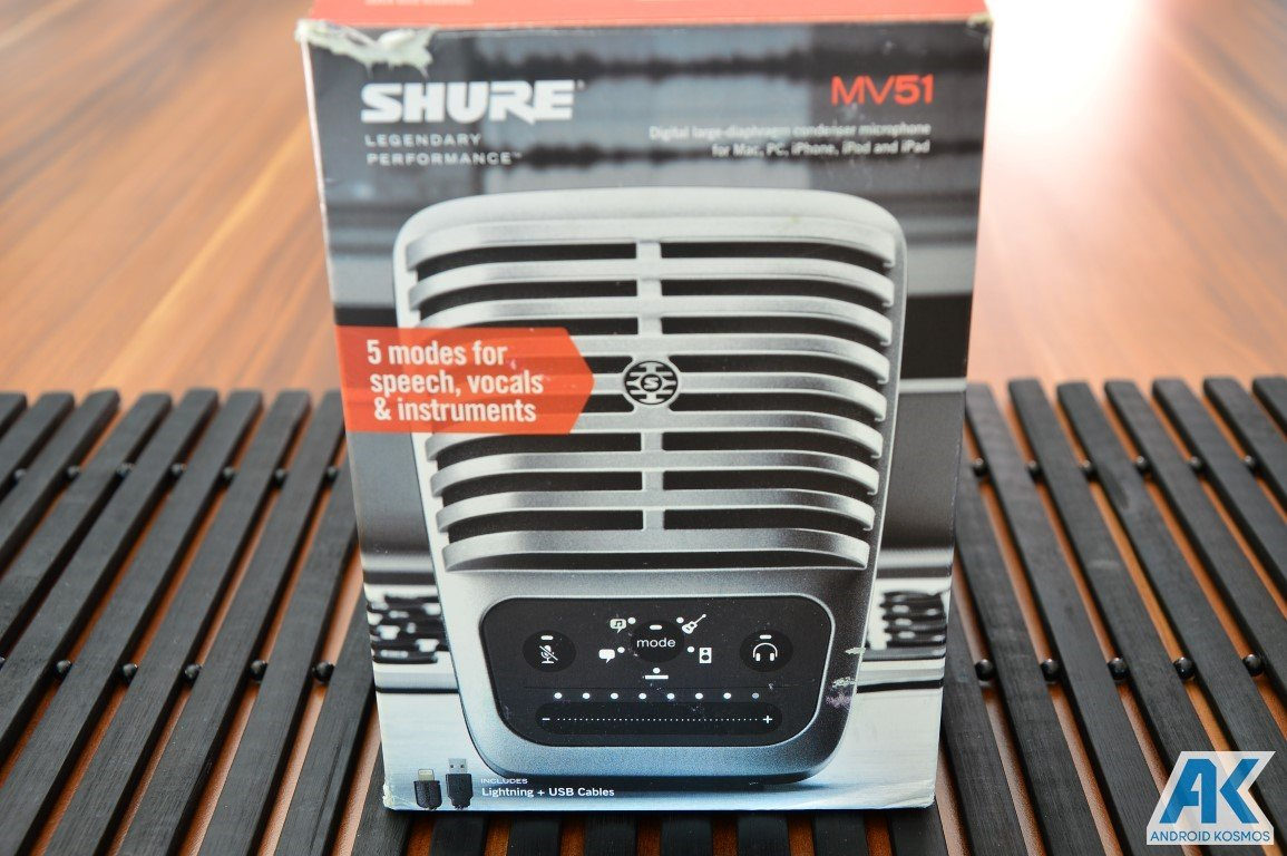 Blog Audio-Equipment: SHURE MV51 Kondensatormikrofon 5