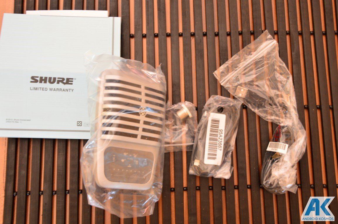 Blog Audio-Equipment: SHURE MV51 Kondensatormikrofon 8