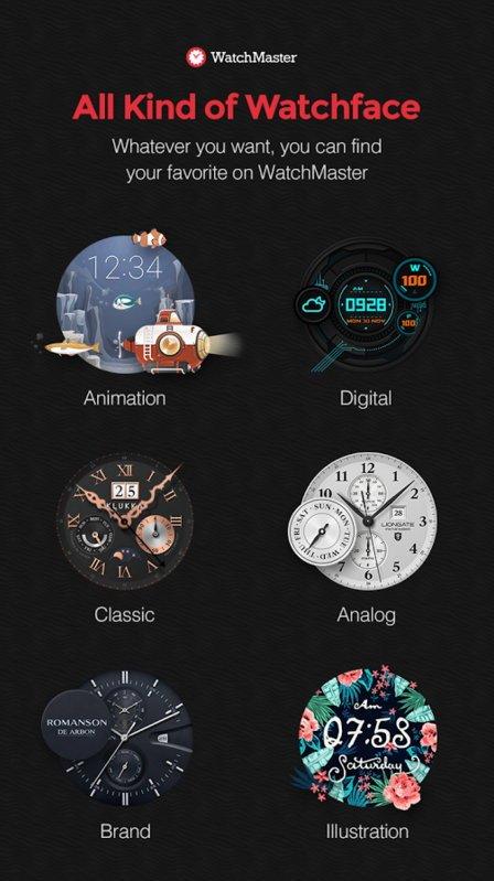 Ziffernblätter-App von Watchmaster jetzt auch für die Gear S2 TizenOS 7