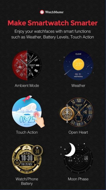 Ziffernblätter-App von Watchmaster jetzt auch für die Gear S2 TizenOS 8