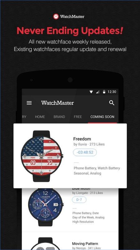 Ziffernblätter-App von Watchmaster jetzt auch für die Gear S2 TizenOS 9