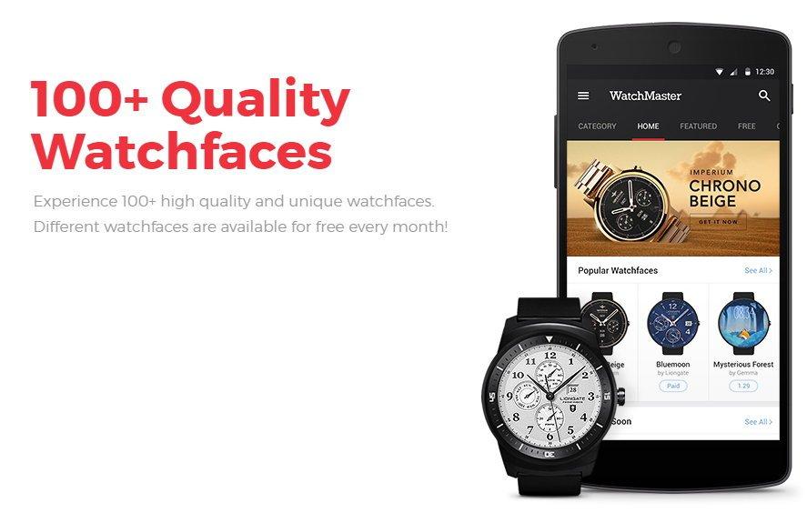 Ziffernblätter-App von Watchmaster jetzt auch für die Gear S2 TizenOS 1