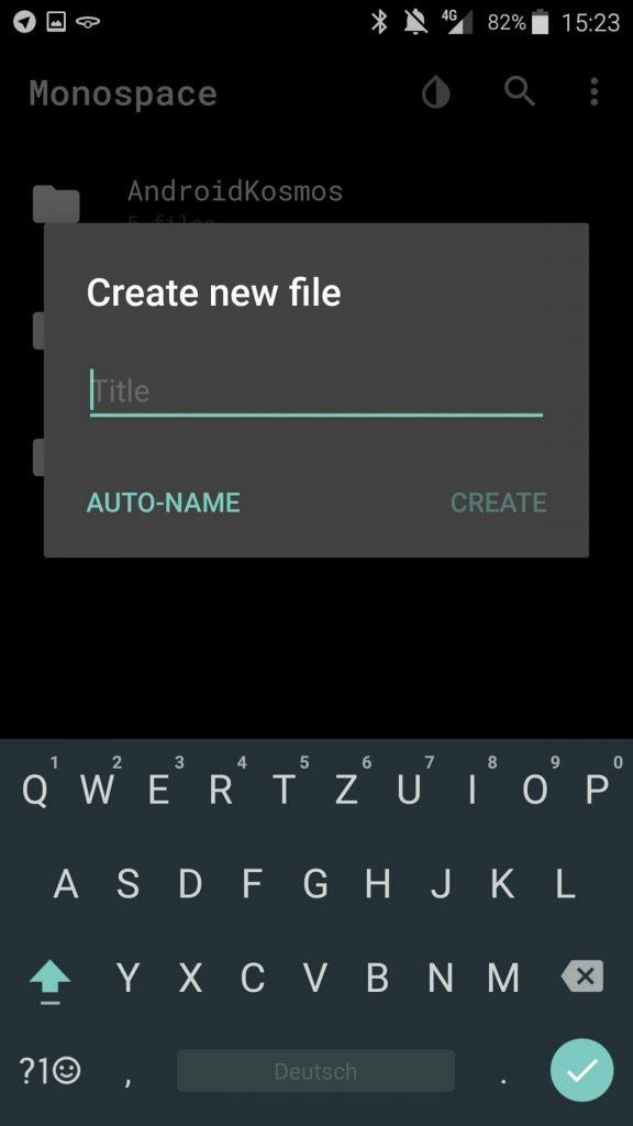 Monospace: Minimalistischer Text-Editor für ablenkungsfreies Schreiben 9