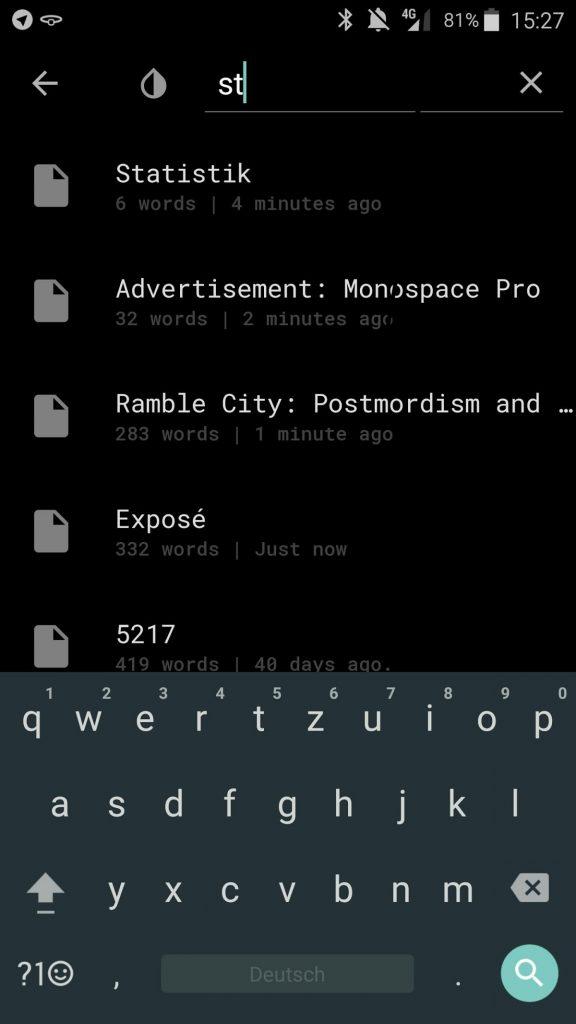 Monospace: Minimalistischer Text-Editor für ablenkungsfreies Schreiben 13