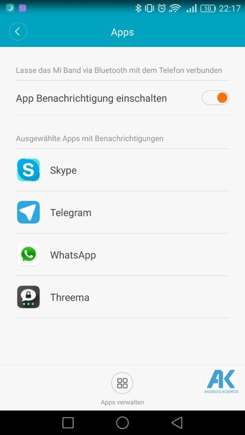 AndroidKosmos | Testbericht / Review / Anleitung / Video: Xiaomi Mi Band 2 Fitnesstracker mit Mi Fit App 62