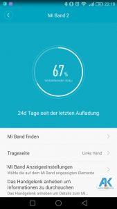 AndroidKosmos | Testbericht / Review / Anleitung / Video: Xiaomi Mi Band 2 Fitnesstracker mit Mi Fit App 67