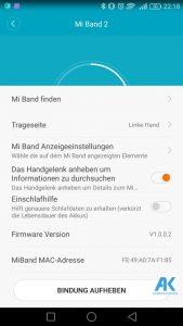 AndroidKosmos | Testbericht / Review / Anleitung / Video: Xiaomi Mi Band 2 Fitnesstracker mit Mi Fit App 53