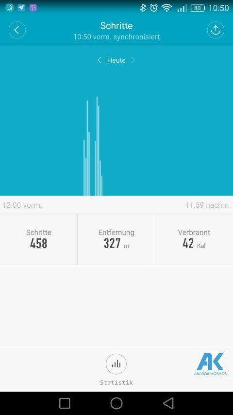 AndroidKosmos | Testbericht / Review / Anleitung / Video: Xiaomi Mi Band 2 Fitnesstracker mit Mi Fit App 46