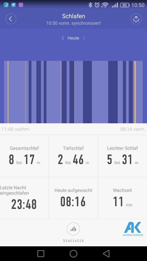 AndroidKosmos | Testbericht / Review / Anleitung / Video: Xiaomi Mi Band 2 Fitnesstracker mit Mi Fit App 49