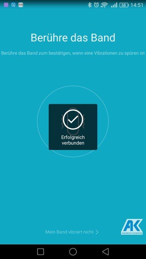 AndroidKosmos | Testbericht / Review / Anleitung / Video: Xiaomi Mi Band 2 Fitnesstracker mit Mi Fit App 45