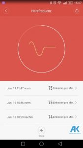 AndroidKosmos | Testbericht / Review / Anleitung / Video: Xiaomi Mi Band 2 Fitnesstracker mit Mi Fit App 50