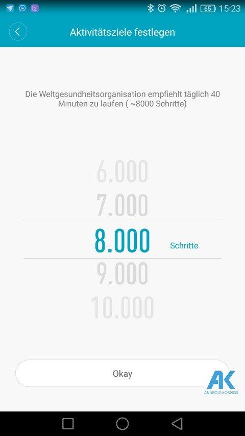 AndroidKosmos | Testbericht / Review / Anleitung / Video: Xiaomi Mi Band 2 Fitnesstracker mit Mi Fit App 72