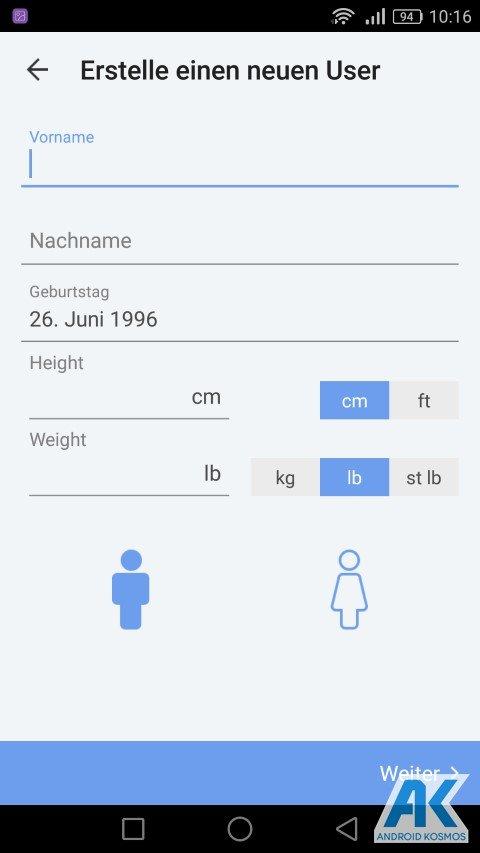 Test / Review: Koogeek Smart Waage mit Gewicht, BMI, Muskel, Wasser, Fettgehalt 24