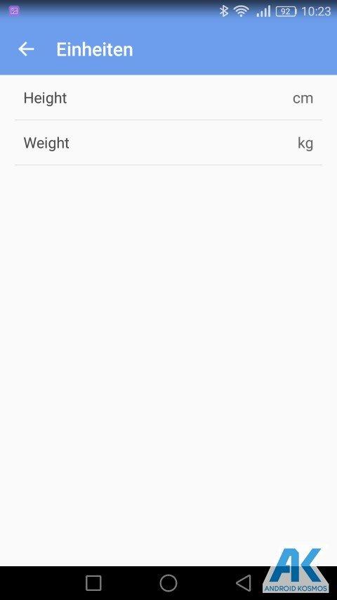 Test / Review: Koogeek Smart Waage mit Gewicht, BMI, Muskel, Wasser, Fettgehalt 30