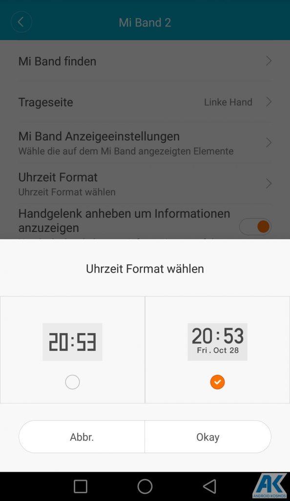 AndroidKosmos | Testbericht / Review / Anleitung / Video: Xiaomi Mi Band 2 Fitnesstracker mit Mi Fit App 83