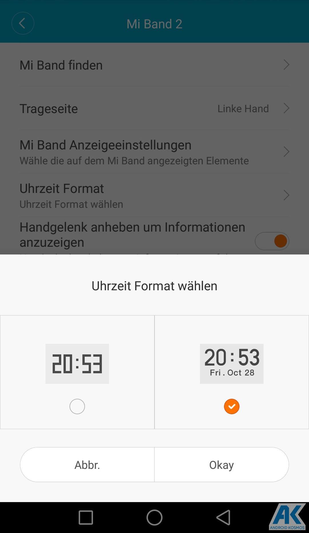 AndroidKosmos | Testbericht / Review / Anleitung / Video: Xiaomi Mi Band 2 Fitnesstracker mit Mi Fit App 81