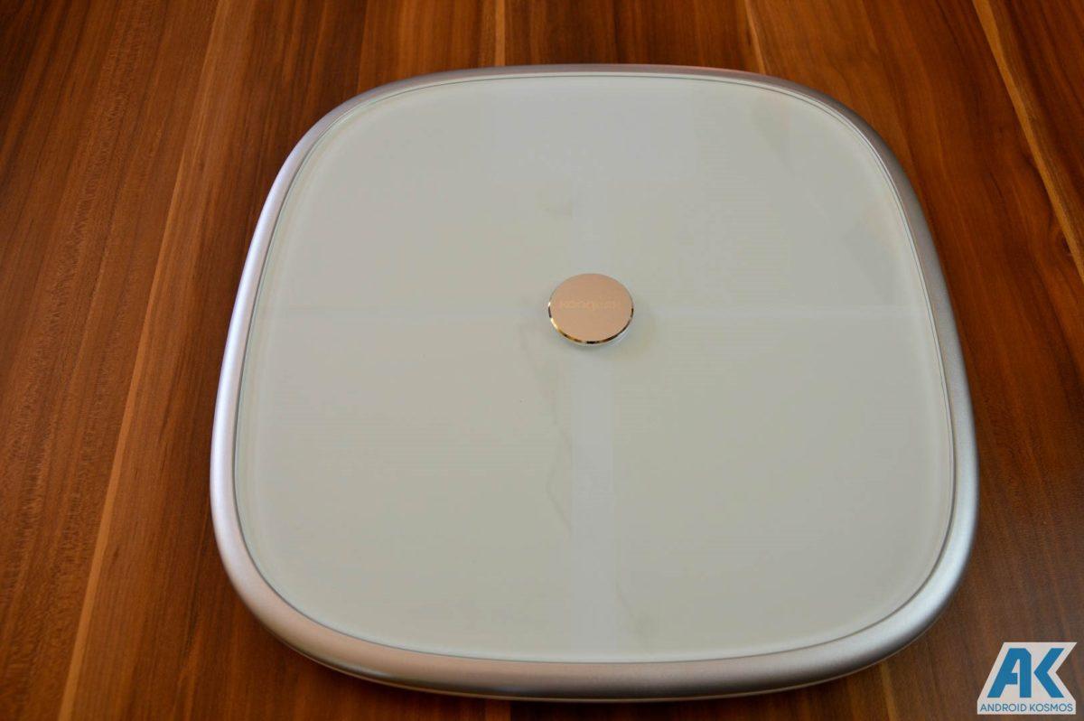 Test / Review: Koogeek Smart Waage mit Gewicht, BMI, Muskel, Wasser, Fettgehalt 11