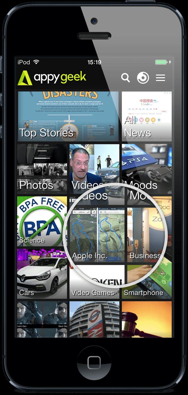 """Nachrichten-App """"AppyGeeks"""" ab sofort mit AndroidKosmos 15"""