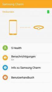 Review: Samsung Charm - Günstiger Activity-Tracker im Test 5