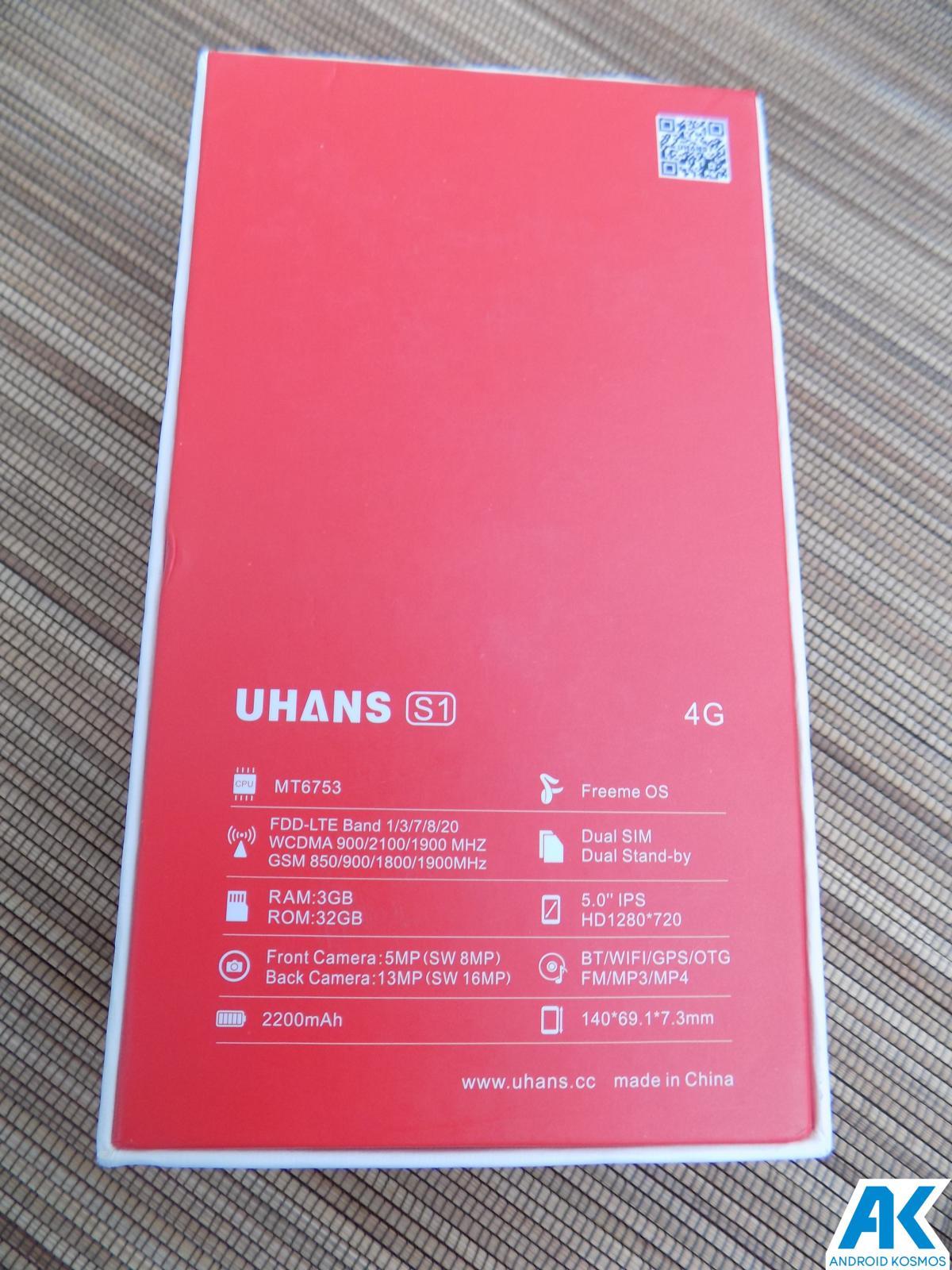 Test / Review UHANS S1 - das schöne Biest? Mittelklasse Budget Phone im Test 44