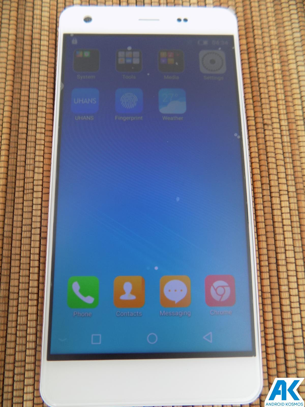 Test / Review UHANS S1 - das schöne Biest? Mittelklasse Budget Phone im Test 55