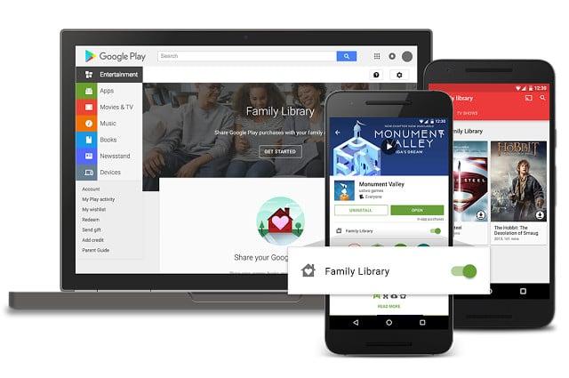 Google Play Store: Wie richtet man die neue Familienmediathek ein 2