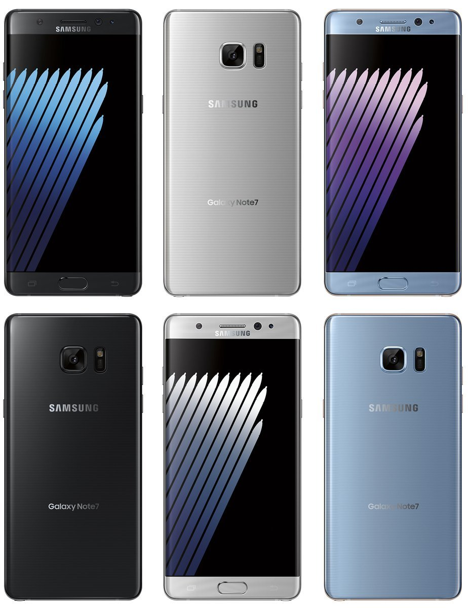 Note 7 All Colors