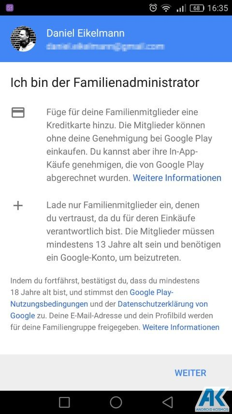 AndroidKosmos | Play Store: Family Library und neue Kategorien 3